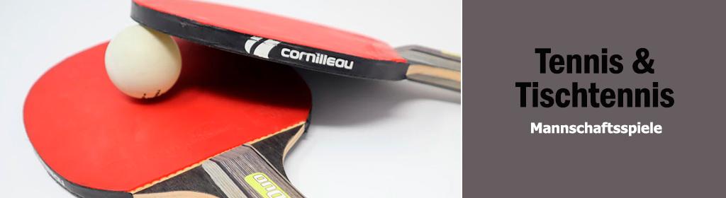 Tennis & Tischtennis Banner