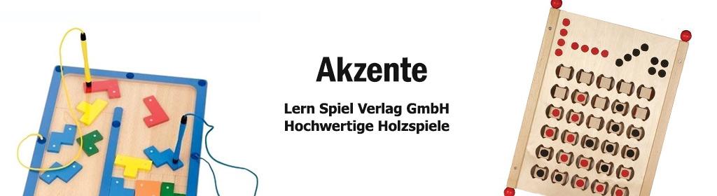 Akzente Lern Spiel Verlag Banner