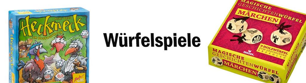 Würfelspiele Banner