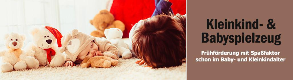 Baby- & Kleinkindspielzeug Banner