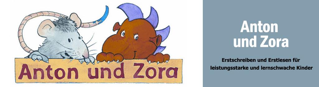 Anton und Zora (Schubi) Banner