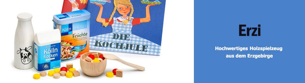 Erzi Holzspielzeug Banner
