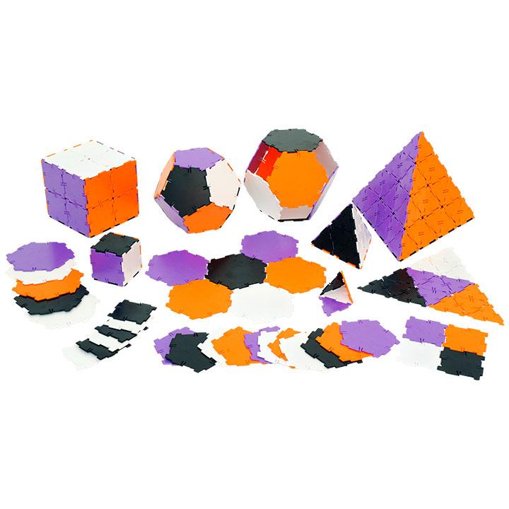 Polydron Klassenset New Colours, geometrisches