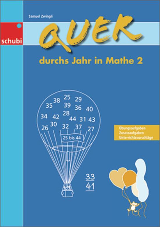 Quer durchs Jahr in Mathe 2, 1.-2. Klasse von Schubi Lernmedien ...
