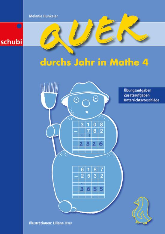 Quer durchs Jahr in Mathe 4, 3.-4. Klasse von Schubi Lernmedien ...