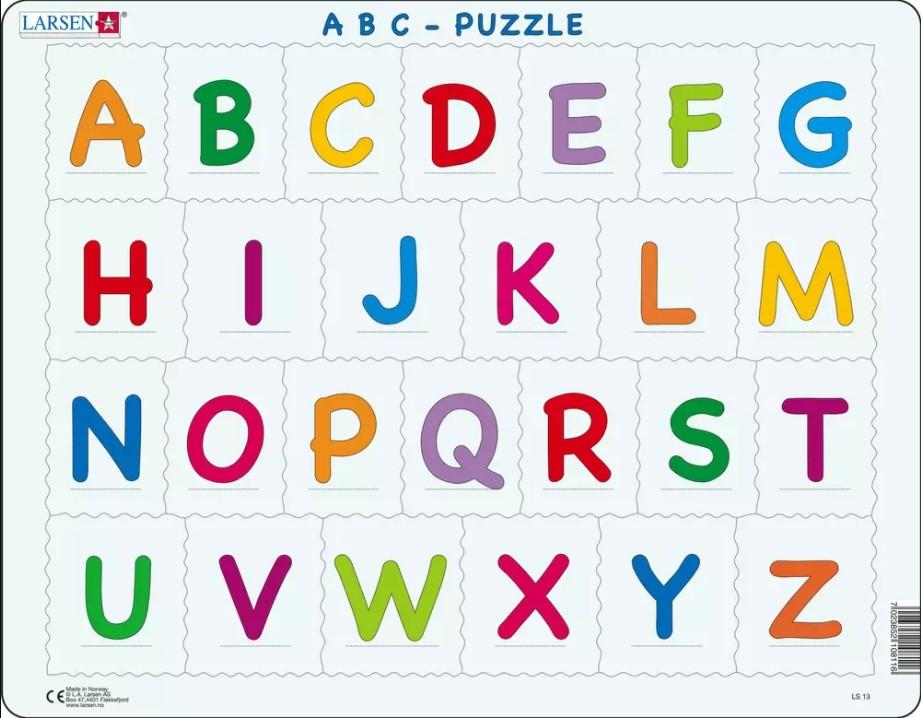 Alphabet Deutsch Buchstaben