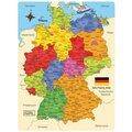 Holz-Puzzle Deutschland-Karte