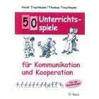50 Unterrichtsspiele - Kommunikation & Kooperation, Buch, 1.-4. Klasse