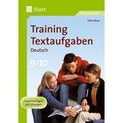 Training Textaufgaben Deutsch, Broschüre, 9.-10. Klasse