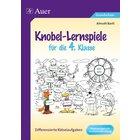 Knobel-Lernspiele für die 4. Klasse, Buch mit Kopiervorlagen