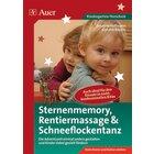 Sternenmemory, Rentiermassage & Schneeflockentanz, Buch, Kindergarten