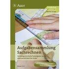 Aufgabensammlung Sachrechnen, Broschüre, 2.-4. Klasse