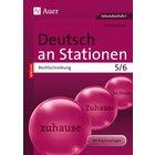 Deutsch an Stationen SPEZIAL Rechtschreibung 5-6, Arbeitsblätter als Kopiervorlagen