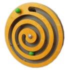 Wandspiele Kugelspirale orange