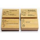 Grundschul-Kontaktstempel-Set, 1.-4. Klasse