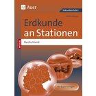 Erdkunde an Stationen SPEZIAL Deutschland, Kopiervorlagenband, 5.-10. Klasse