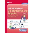 Mit Montessori die Rechtschreibung begreifen, Broschüre inkl. CD, 1. Klasse