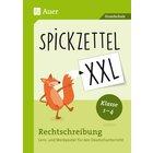 Spickzettel XXL - Rechtschreibung, 8 Poster, 1.-4. Klasse