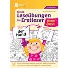 Kleine Leseübungen für Erstleser - Wortebene, Buch, 1.-2. Klasse