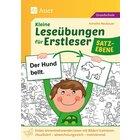 Kleine Leseübungen für Erstleser - Satzebene, Buch, 1.-2. Klasse