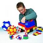 Lokon 312 Bauplättchen für geometrische Formen: Dreieck, Viereck und Fünfeck