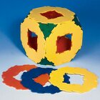 Polydron Mengensatz Achtecke mit Ausschnitt 10 Teile