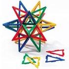 Polydron Frameworks Mengensatz gleichschenklige Dreiecke 80 Teile
