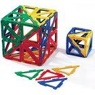 Polydron Frameworks Mengensatz rechtwinklige Dreiecke 100 Teile
