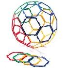 Polydron Frameworks Mengensatz Sechsecke/Hexagone 30 Teile
