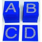 Tastplatten Großbuchstaben ABC