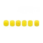 10 Augenwürfeln aus Holz 18 mm, gelb