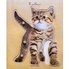 Holz-Puzzle Katze, ab 2 Jahre