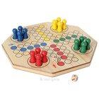 XL-Ludo doppelseitig 4-6 Spieler