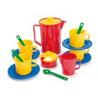 dantoy Sandspielzeug, Kaffeeservice im Netz, 17 Teile