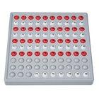 ABACO 100 mit Zahlen - Modell A 10/10 Kugeln (rot/weiß), 6-9 Jahre