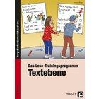Das Lese-Trainingsprogramm: Textebene, Buch, 1.-2. Klasse