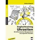 Englischtraining: Uhrzeiten, Broschüre, 1.-4. Klasse
