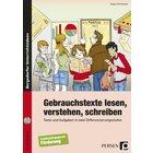 Gebrauchstexte lesen, verstehen, schreiben - Buch inkl. CD, 5.-9. Klasse