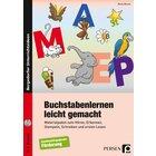 Buchstabenlernen leicht gemacht, Heft inkl. CD, 1.-2. Klasse