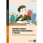 Aufsätze planen, schreiben, überarbeiten, Buch inkl. CD, 3. Klasse