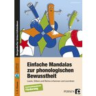 Einfache Mandalas zur phonologischen Bewusstheit, Broschüre, 1.-2. Klasse