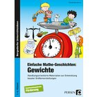 Einfache Mathe-Geschichten: Gewichte, Buch, 1.-4. Klasse