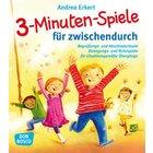3-Minuten-Spiele für zwischendurch, Taschenbuch, 2-6 Jahre