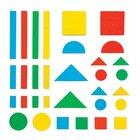 Magnetische Holzklötzchen 80 Teile, Farben + Formen