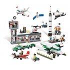 LEGO Weltraum und Flughafen Set, 1176 Teile mit Aufbewahrungsbox, ab 4 Jahre