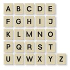 Magnetische Großbuchstabenblocks