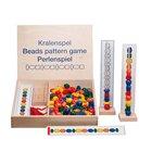 Maxi-Perlen-Reihen, Perlenspiel mit Aufgabenkarten, ab 4 Jahre  (nur solange der Vorrat reicht!)
