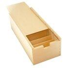 Große Lernbox (DIN A7) aus Holz