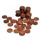 Geld Euro-Münzen Spielgeld 2 Cent