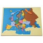 Montessori Puzzlekarte Europa